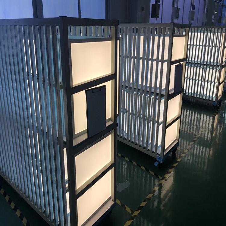 长泓厂家专业生产调光调色面板灯6060双色面板灯高亮亚克力调光调色平板灯