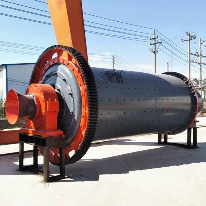 采德7.5米卧式球磨机 圆粒石英砂加工设备 石英砂球磨机