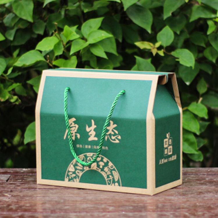 厂家定制生鲜水果盒-茶叶包装盒-天地盖包装生产商直销-鑫佰盛