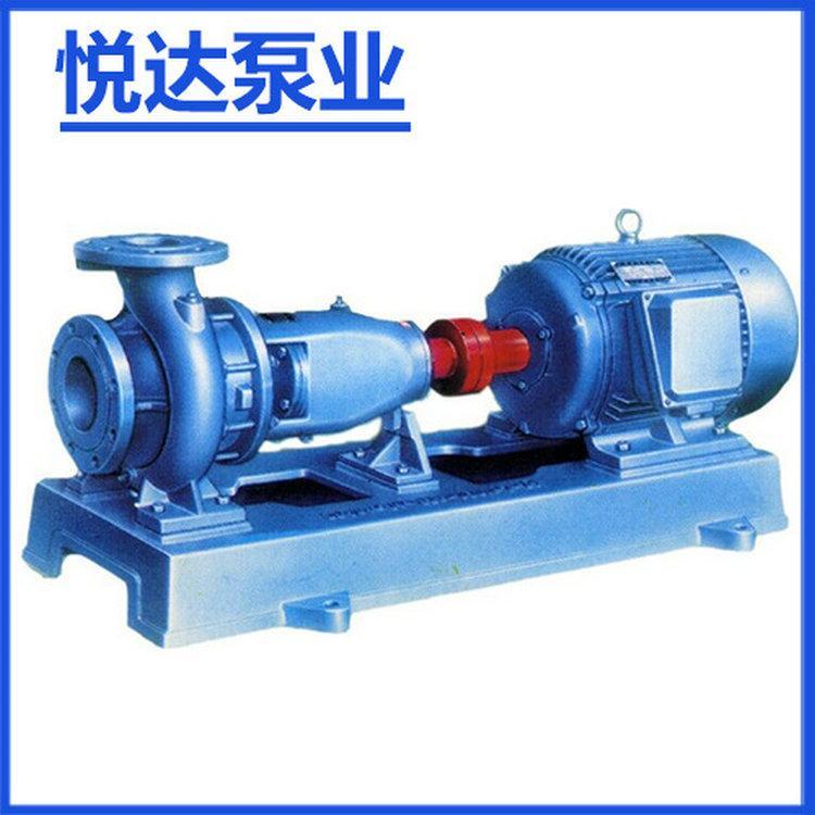 悦达-不锈钢IH卧式管道离心泵 耐磨卫生级管道离心泵批发