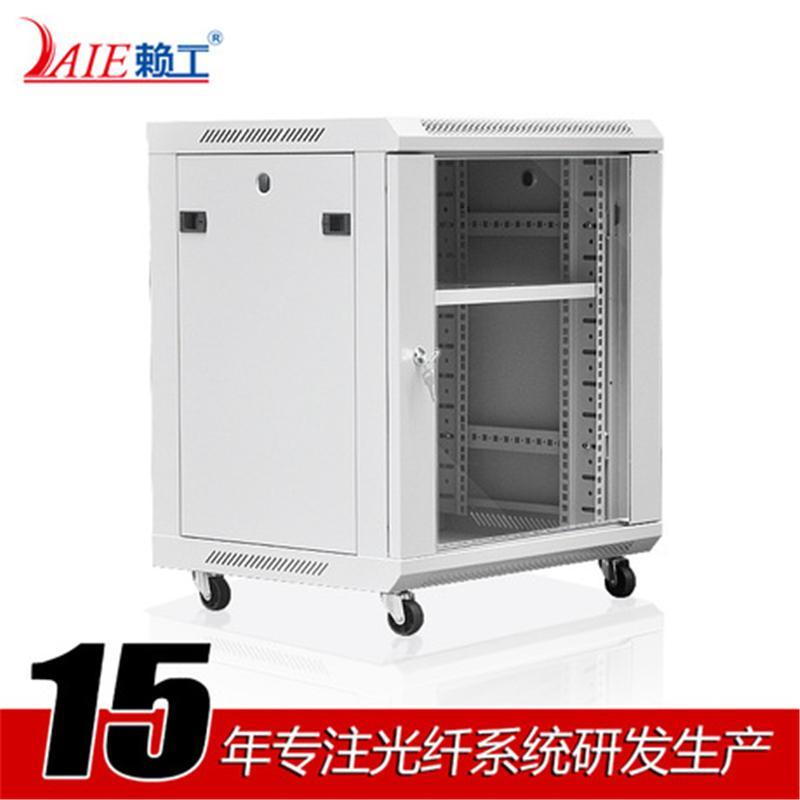 LAIE赖工标准19英寸 白色网络挂墙12U机柜 壁挂式服务器机柜厂家直销