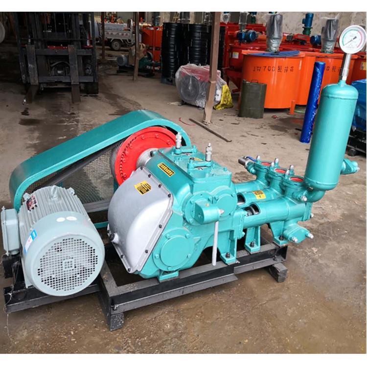 路邦机械BW250大流量泥浆泵 矿井排污注浆机 卧式三缸泥浆泵生产厂家