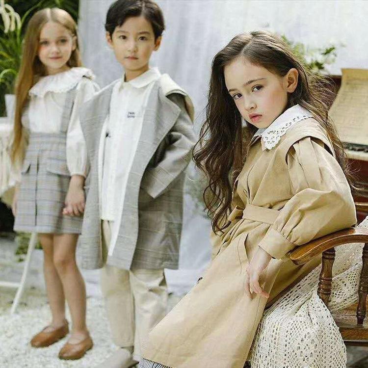 吾民堂儿童服装品牌 品牌折扣童装尾货 上海丝光棉尾货服装