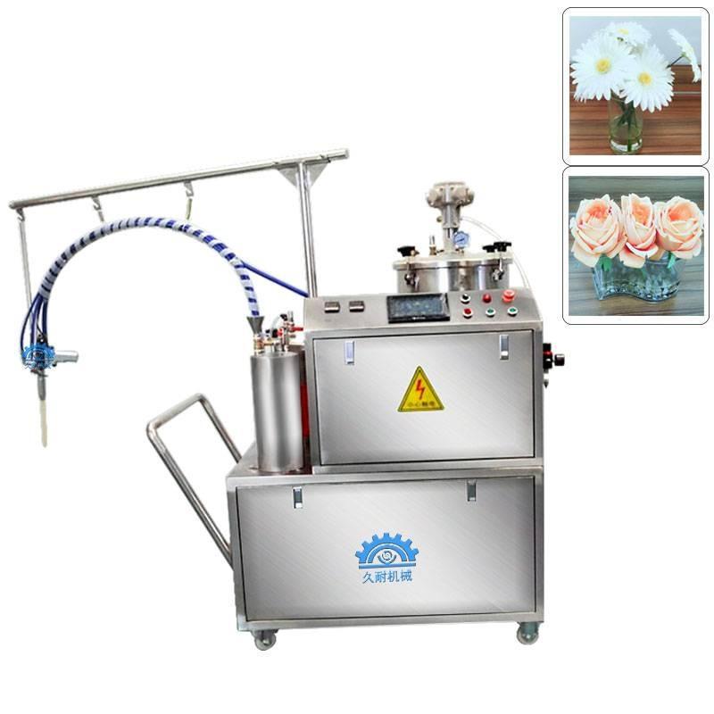 人造花专用无气泡假水灌胶机久耐机械生产