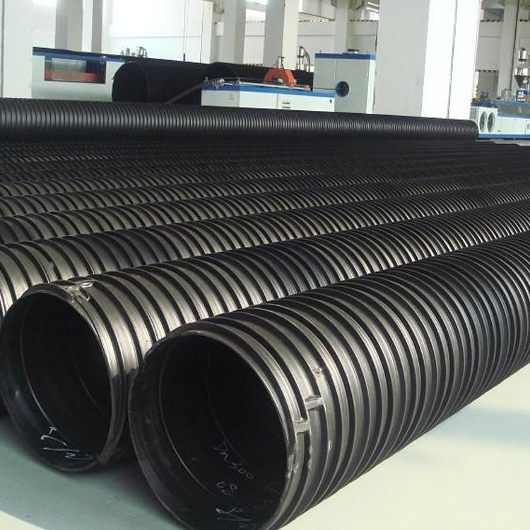 批发hdpe中空壁塑钢缠绕排水管 聚乙烯塑钢管 排水管生产厂家