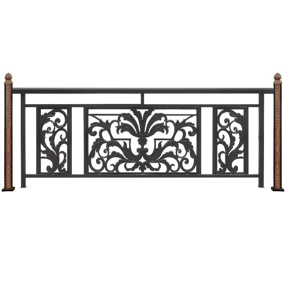 固格澜栅-别墅铝艺阳台护栏-小区铝艺阳台栏杆-铝艺护栏直销
