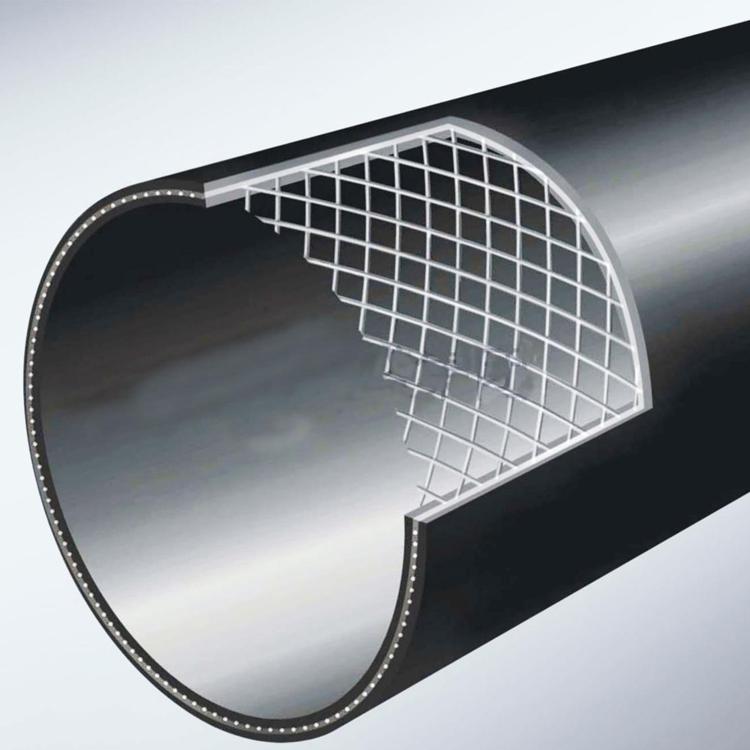 厂家直销 钢丝网骨架聚乙烯复合管 钢丝网骨架管pe给水管