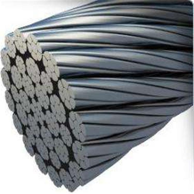 德力专业批发 镀锌钢丝绳现货7*7不锈钢3mm钢丝绳软钢丝