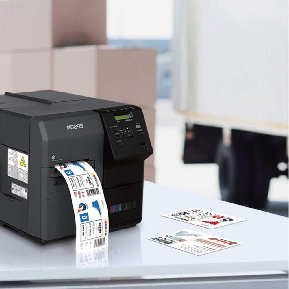 愛普生EPSON TM-C752OG工業級高速全彩色標簽打印機條碼打印機廠家訂購
