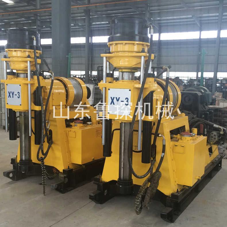 鲁探XY-3型立轴式钻深水井钻机 全液压600米深水井钻机
