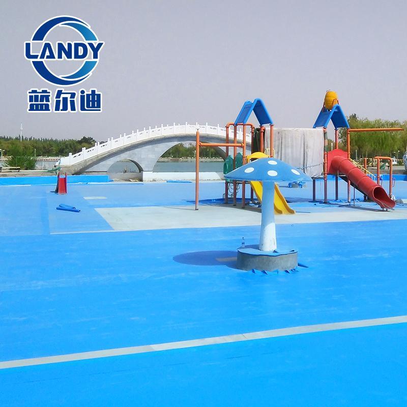 虹口游泳池 婴儿马赛克泳池防水胶膜不褪色防紫外线 宽度1.83米 夹网抗撕裂 环保 蓝尔迪制造厂家