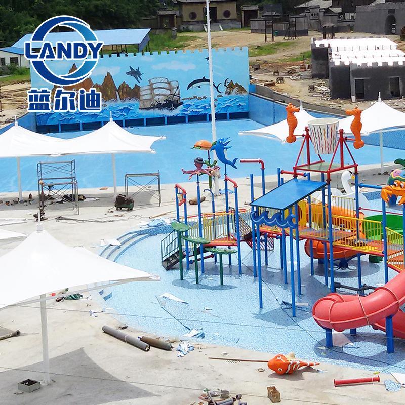 游泳池专用地胶 防水胶膜 防滑地胶 泳池内衬 广州蓝尔迪厂家 可上门施工和指导