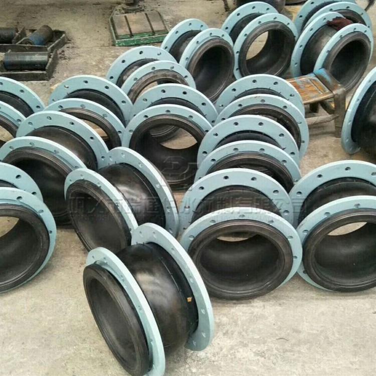 瑞通厂家单球体橡胶接头 16公斤可曲挠橡胶膨胀节 可以定制