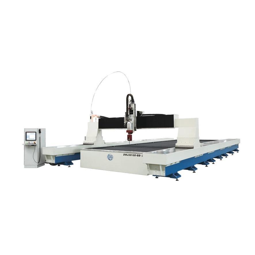 大地水刀 DWJ30100 BB 模组龙门式水切割机 金属水刀切割机