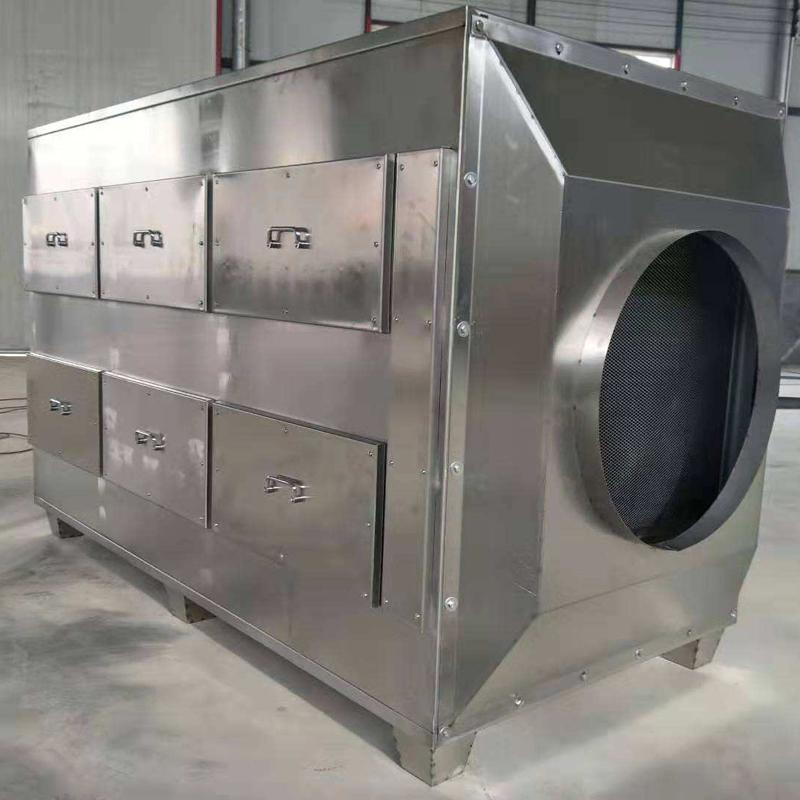 鹏龙厂家定制抽屉式活性炭吸附箱 过滤异味吸附装置 喷漆房废气净化器环保设备