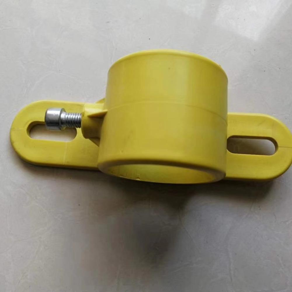 工地临边防护配件 临边防护配件弯头 底座 楼梯扶手塑料管件大量现货价格优惠