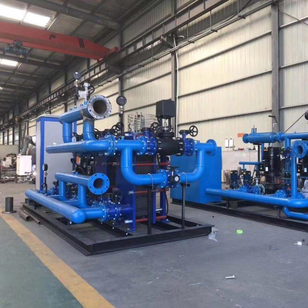 佳木斯板式换热机组厂家 全自动采暖换热机组