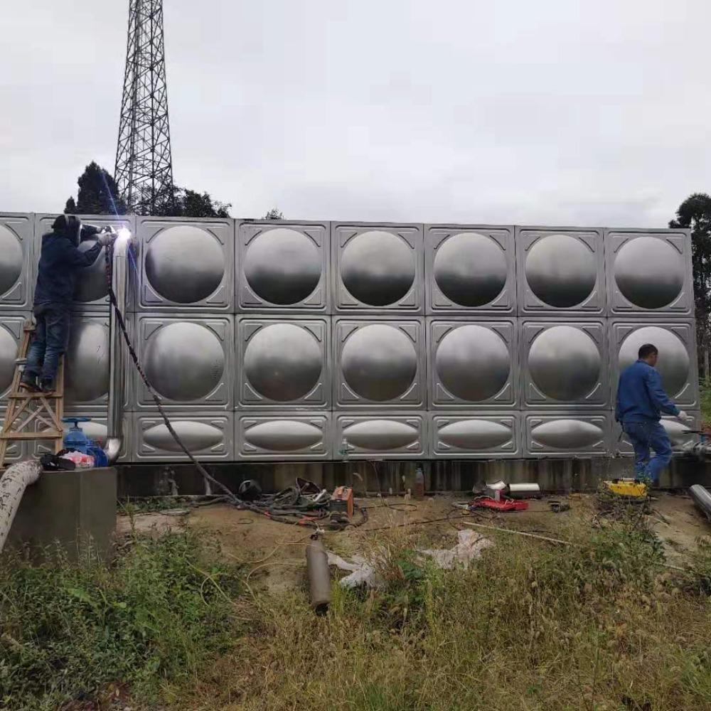 源塔直销 云南304不锈钢水箱价格-保温-组合式-生活-消防-方形水箱厂家 品质保证