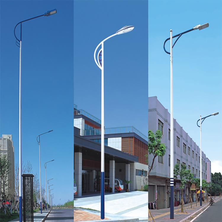 山东隆昌厂家直销10米20米高杆灯 弧形高杆灯 LED路灯
