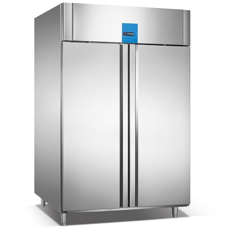 佰科电器 广州两门冷冻柜厂家 供应不锈钢两门冷藏冷冻柜 支持批发与定制