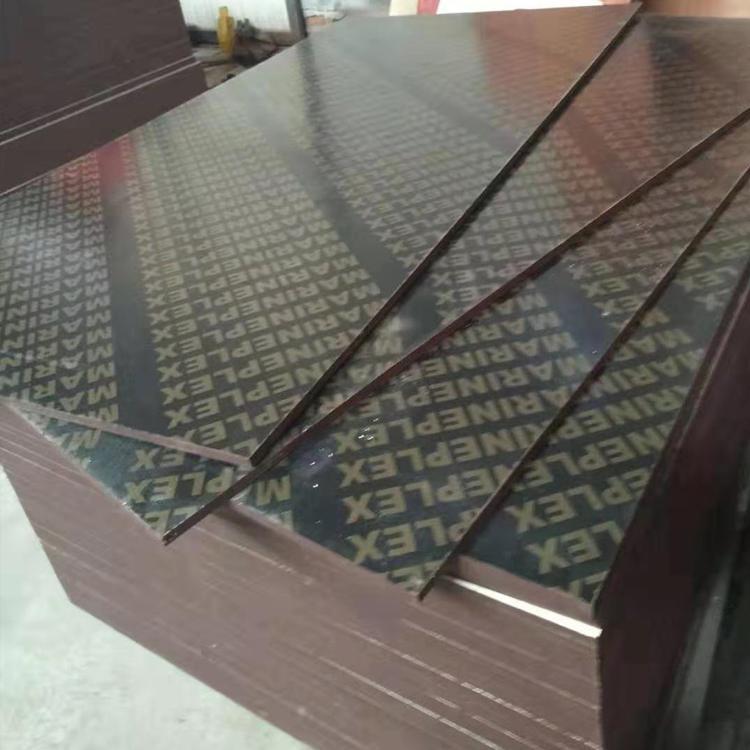 3*6尺建筑模板木模板 信康黑建筑模板生产厂家