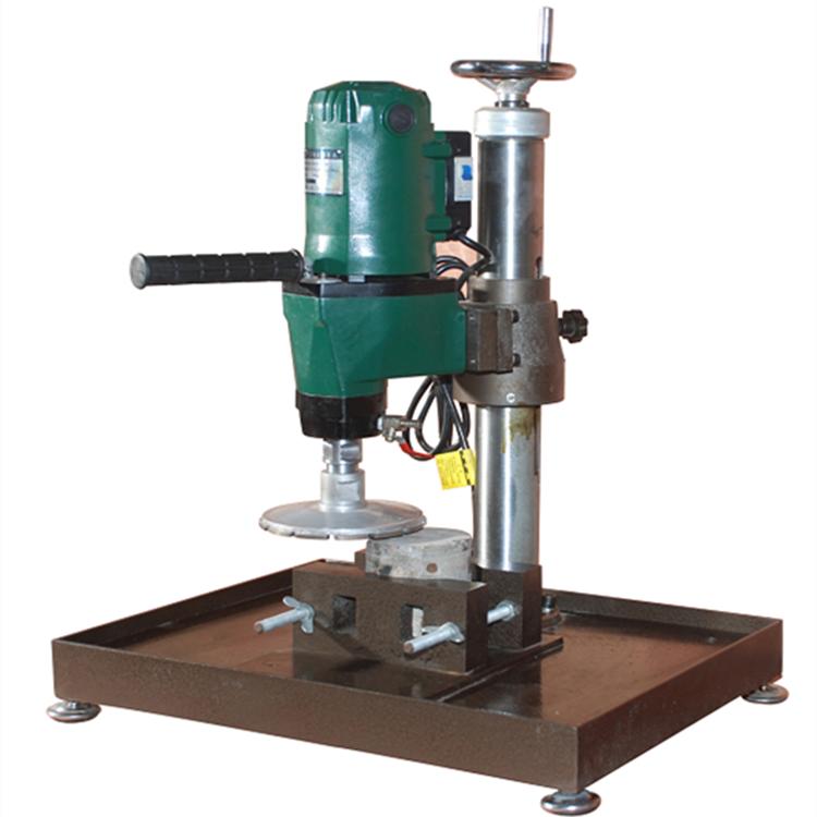 路邦机械HMP-150A型混凝土芯样磨平机 混凝土切片磨平机生产厂家
