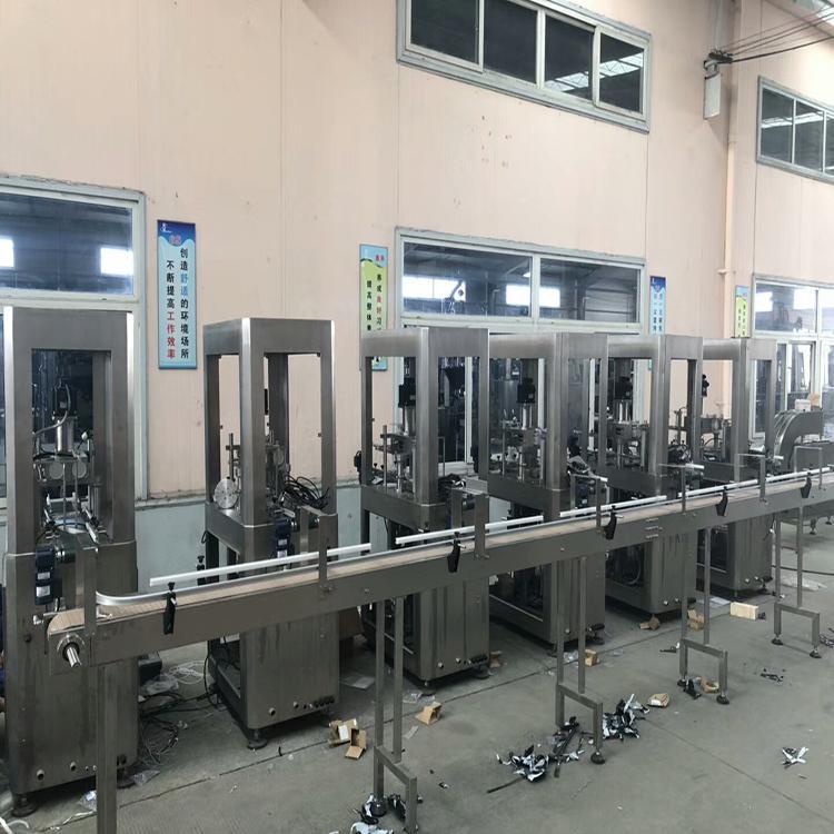 上海食品级不锈钢全自动灌装机 厂家直销 尼尔机械