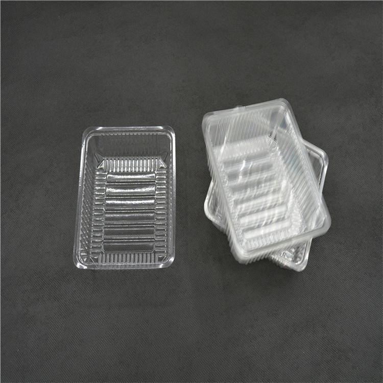 国华PP吸塑盒公司 电子元件吸塑托盘定制