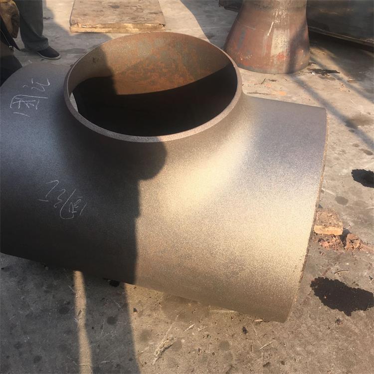 现货批发 异径三通 流体管道输送用大口径三通 生产厂家