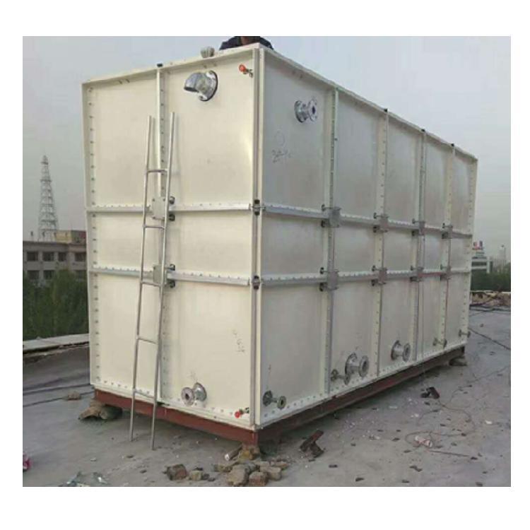 潮州泉州玻璃钢水箱价格表组合式水箱养老院水池-石拓节能