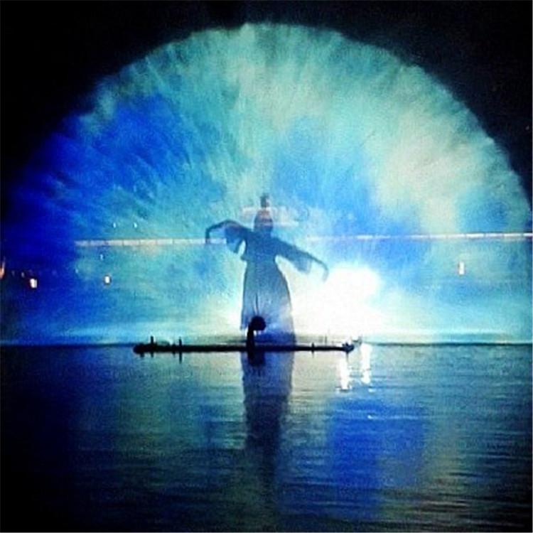 设计安装水幕电影 水幕激光秀 喷泉设计安装 承接喷泉工程