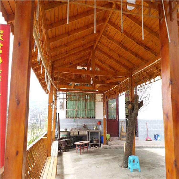 安顺防腐木售货亭防腐木花园设计