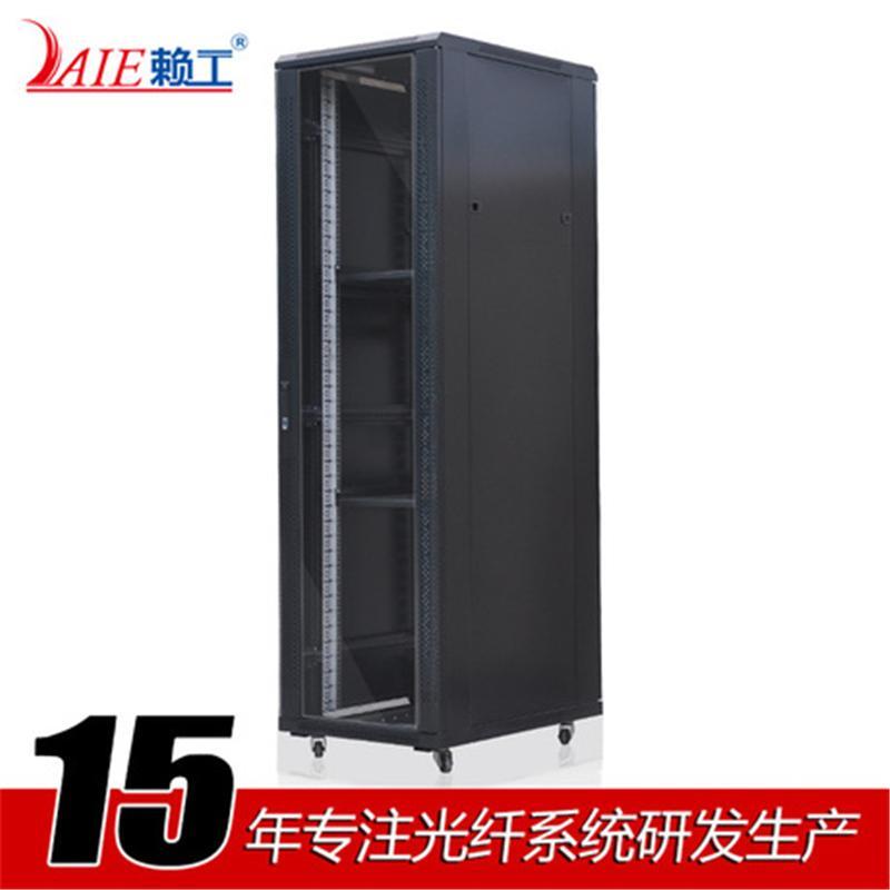 LAIE赖工 标准42U网络机柜2000*600*800 19英寸服务器机柜厂家直销