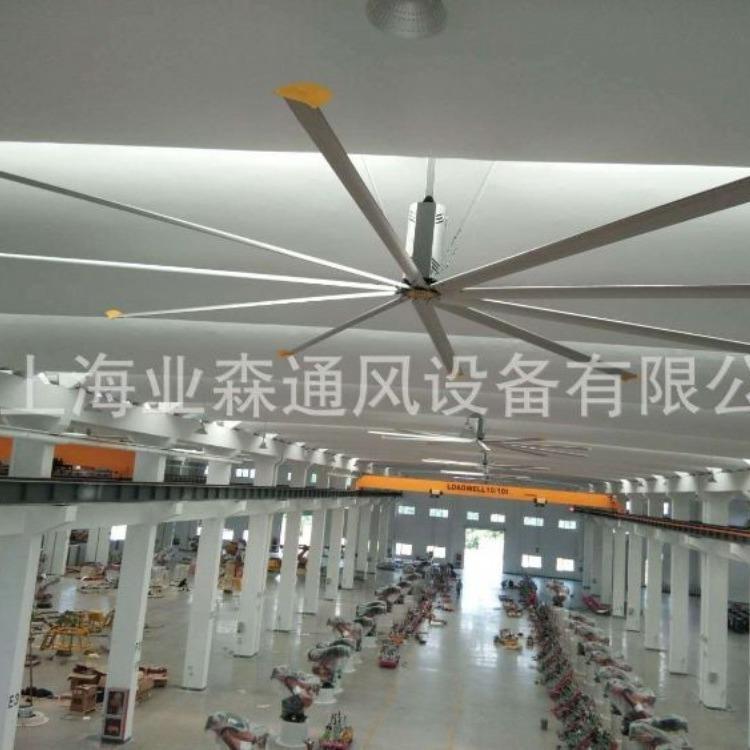 业森专注于生产 大型工业吊扇 车间节能风扇 环保工业大吊扇