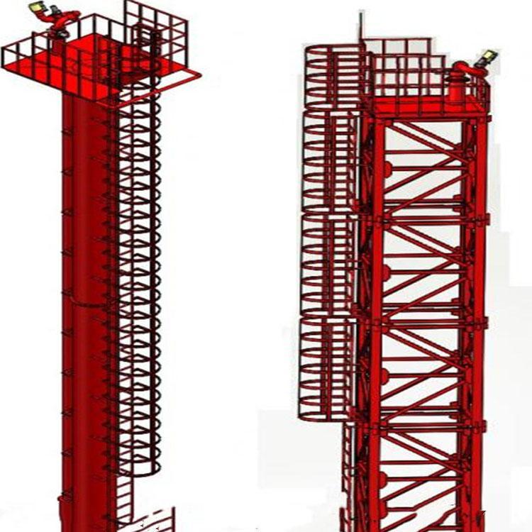 山东全自动遥控高架喷射塔厂家 工地路边雨淋道路施工降尘降温消防塔 加工定制
