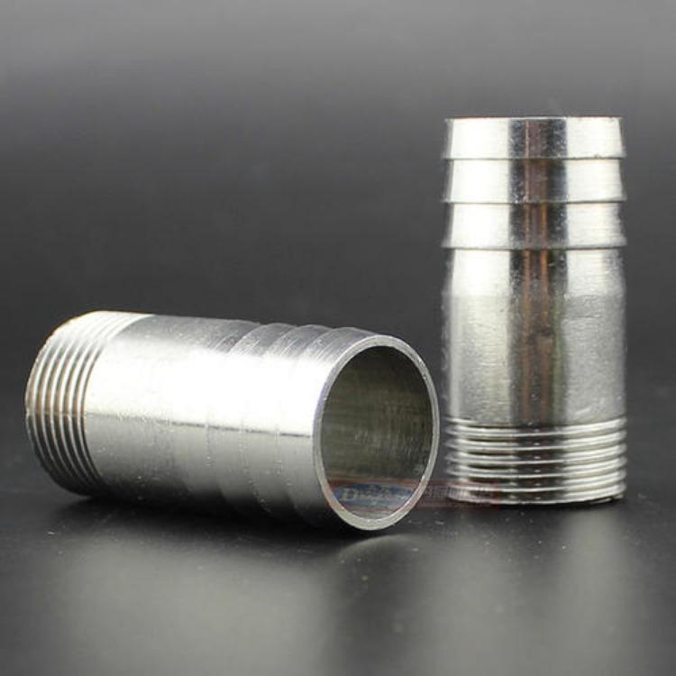 不锈钢316材质卡盘外丝接头 硅胶软管接头 卡盘接头 衡水睿哲厂家直销