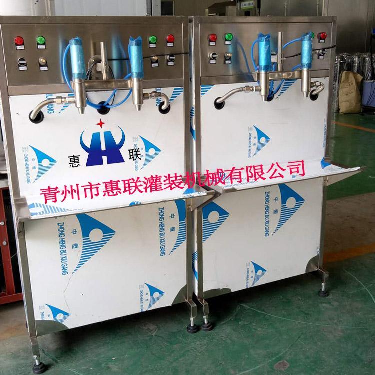 半自动香油花生油灌装机设备报价