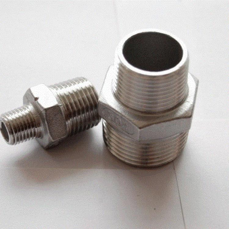 不锈钢304材质卡盘外丝接头 硅胶软管接头 卡箍接头 河北景县睿哲生产可定制
