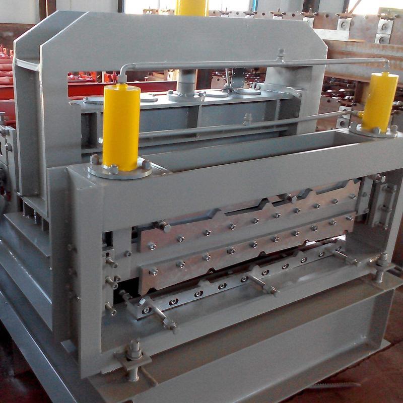 浩鑫供应 彩钢瓦设备 顶板墙板单双层冷弯滚压成型机器压瓦机全自动840900两用压瓦机