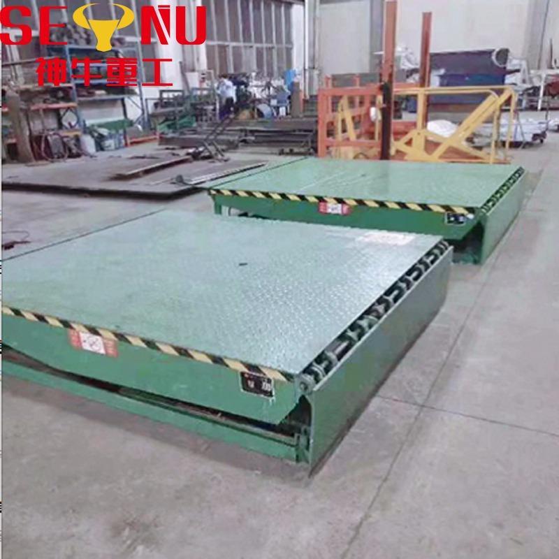 厂家直销高度调节板固定登车桥 定做月台固定式液压登车桥