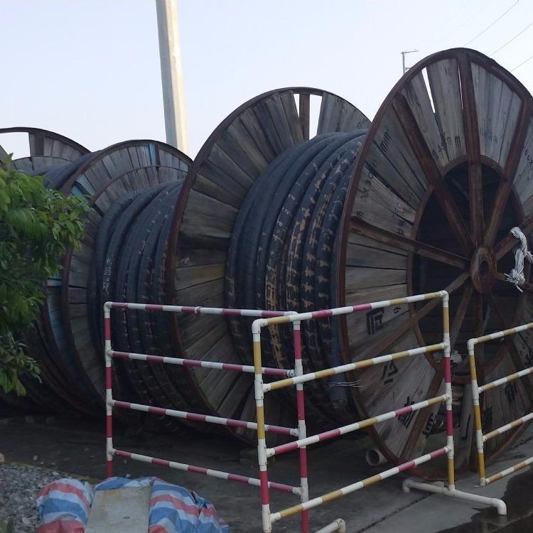 滨州低压电缆回收高价收铜芯大盘电线-整轴电缆回收