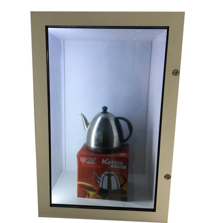 广州透明屏液晶屏 触摸屏生产厂家 触摸透明液晶展示柜