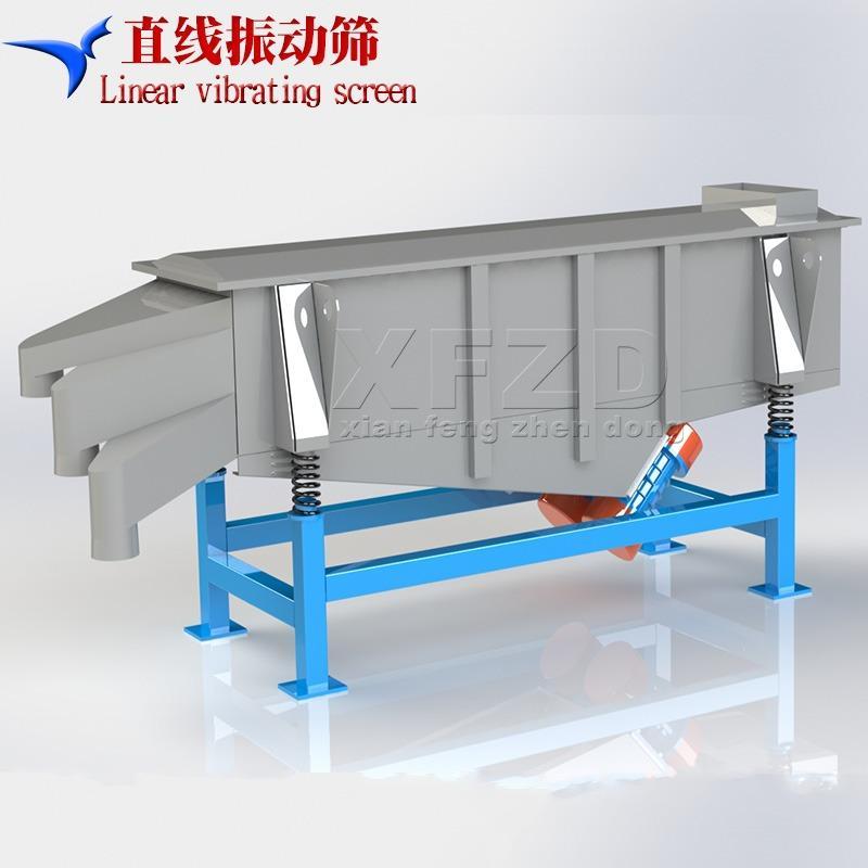 碳钢直线筛 高效多层振动筛分机 矿用大型直线振动筛
