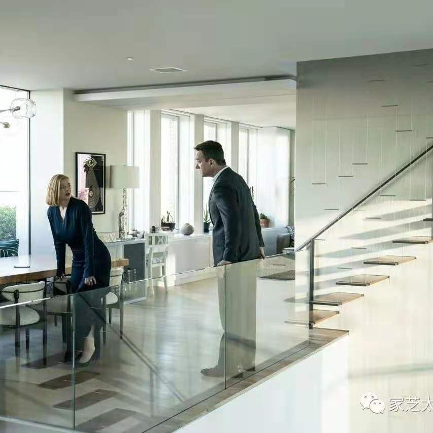 全屋定制玻璃装修 玻璃地板厨房书房楼梯墙面吊顶用装修建安全屋定制