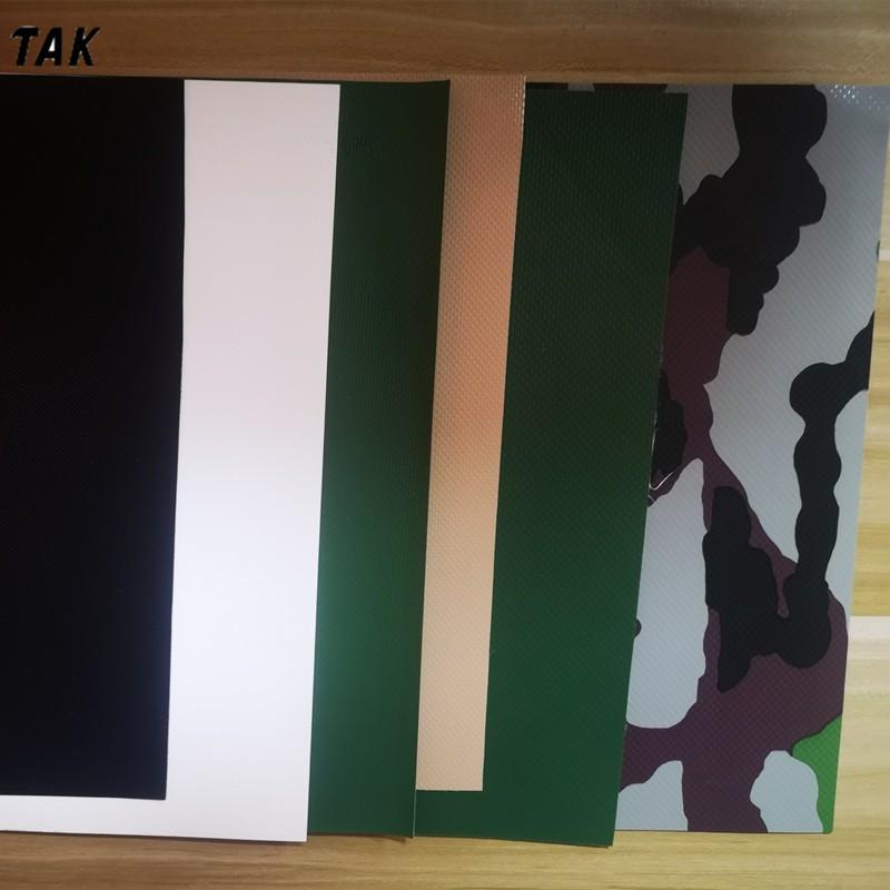 海宁现货供应1.1毫米迷彩篷布 PVC篷布 迷彩刀刮布夹网布
