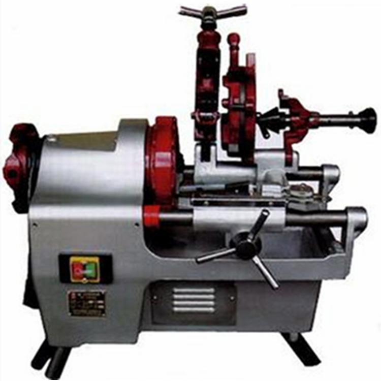矿联机械沪工电动套丝机 电动切管套丝机 台式套丝机