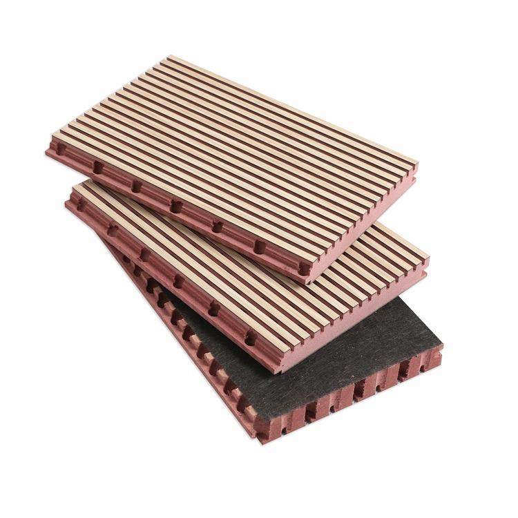 报告厅吸音板 槽木吸音板生产公司 木质隔声板