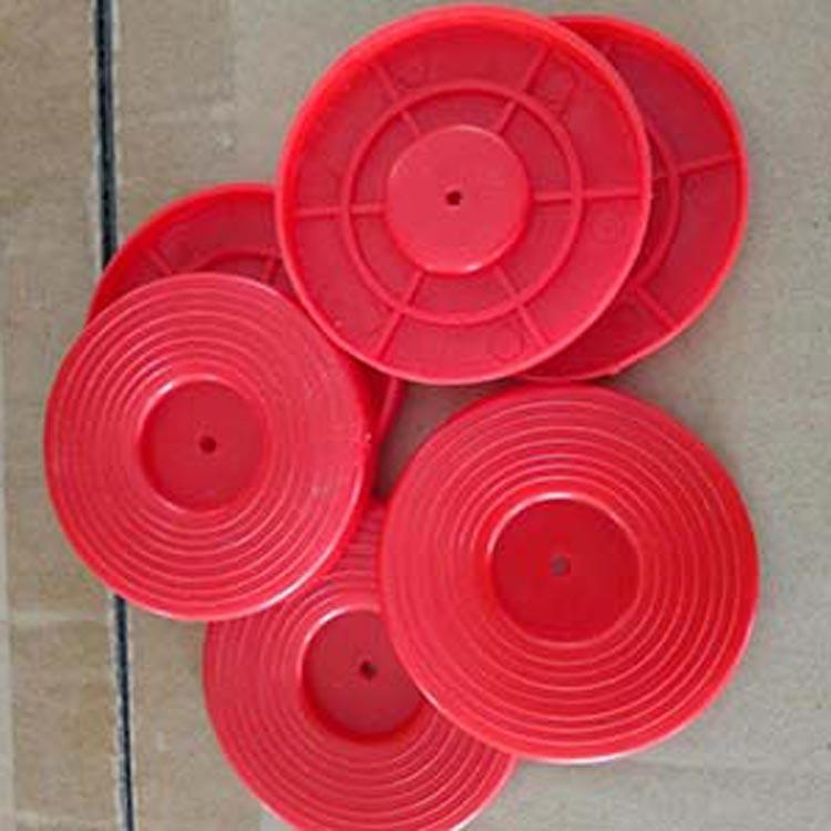 年底活动中安徽艺达厂家供应土工膜专用垫片 70红色热熔垫片价格优惠