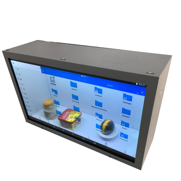 广州透明触摸液晶屏 广告led显示屏 橱窗透明屏幕