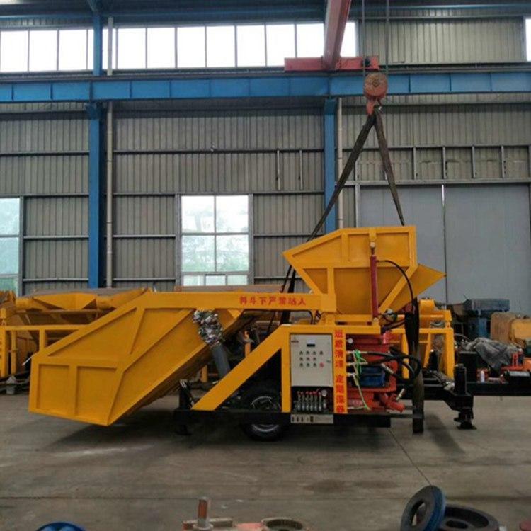 福建宁德 混凝土干式喷浆机 吊装自动上料喷浆车喷浆机
